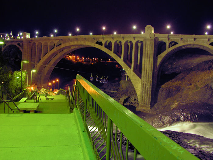 Monroe Street bridge, Spokane, Washington