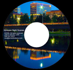 Ordering a Spokane Night Scenes image CD