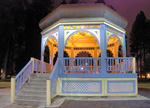 The central gazebo, Coeur d' Alene park, Spokane, Washington
