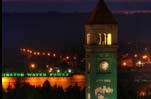 A look at the Clocktower in Riverfront Park.   Spokane, Washington